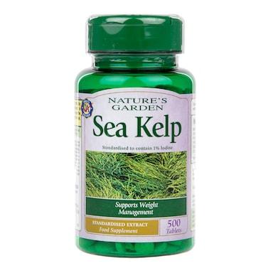 Natures Garden Sea Kelp Tablets 15mg 500 Tablets