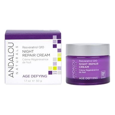 Andalou Reservatol Q10 Night Repair Cream 50ml
