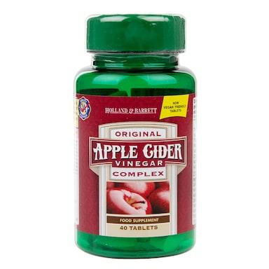 Holland & Barrett Apple Cider Vinegar Complex 40 Tablets