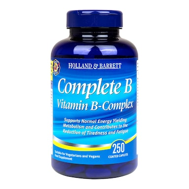 Holland & Barrett Complete B Vitamin B Complex 250 Caplets