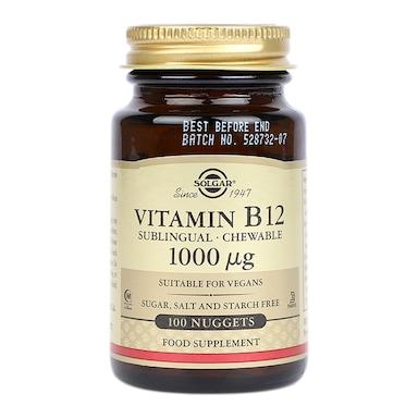 Solgar Vitamin B12 1000µg 100 Nuggets