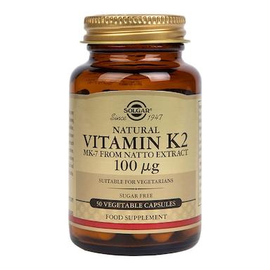 Solgar Vitamin K2 100µg 50 Vegi Capsules