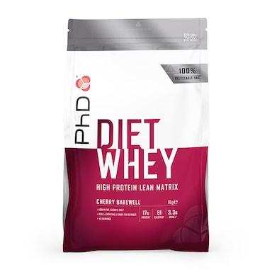 PhD Nutrition Diet Whey Protein Powder Cherry Bakewell 1000g