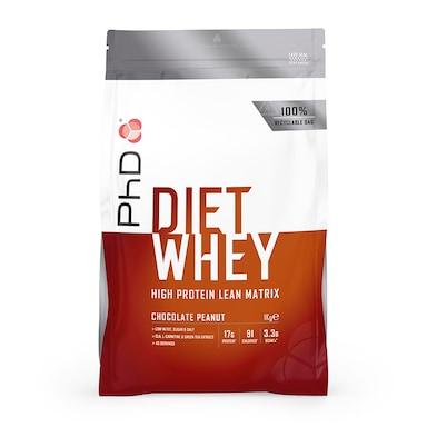 PhD Diet Whey Powder Chocolate Peanut 1000g
