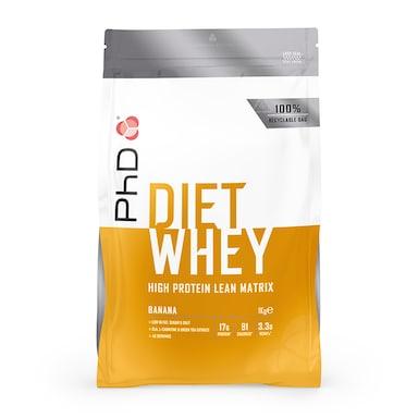 PhD Nutrition Diet Whey Protein Powder Banana 1000g