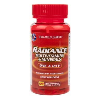 Holland & Barrett Radiance Multi Vitamins & Minerals One a Day 120 Tablets