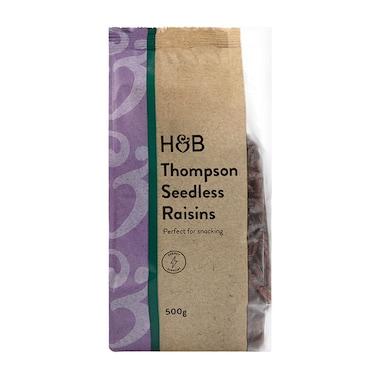 Holland & Barrett Seedless Raisins 500g