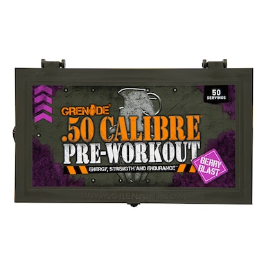 Grenade .50 Calibre Pre-Workout Berry Blast 580g