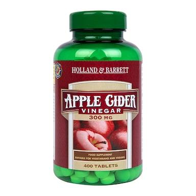 Holland & Barrett Apple Cider Vinegar 400 Tablets 300mg