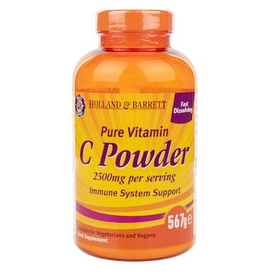Holland & Barrett Pure Vitamin C 567g Powder 2500mg