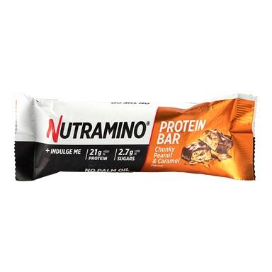Nutramino Protein Bar Chunky Peanut & Caramel 60g
