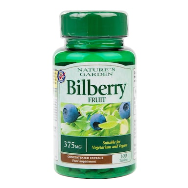 Good n Natural Bilberry 100 Tablets 375mg
