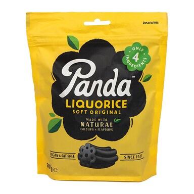 Panda All Natural Soft Liquorice 240g Bag