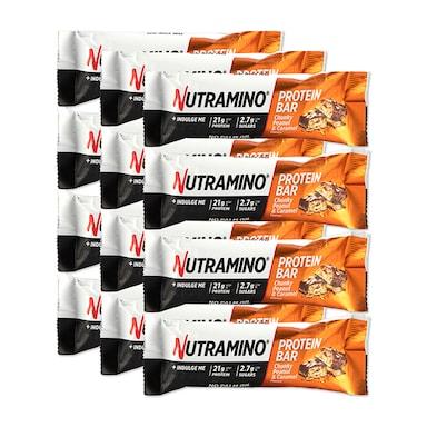 Nutramino Protein Bar Chunky Peanut & Caramel 12 x 60g