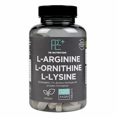 Precision Engineered L-arginine L-ornithine L-lysine 120 Tablets