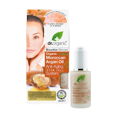 Dr Organic Moroccan Argan Oil Anti-Aging Stem Cell System