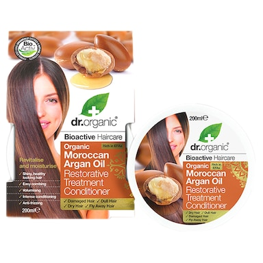 Dr Organic Moroccan Argan Oil Restorative Treatment Conditioner 200ml