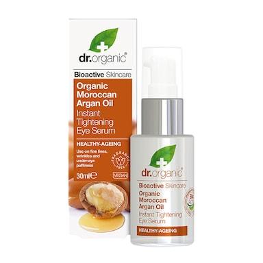Dr Organic Moroccan Argan Oil Instant Tightening Eye Serum 30ml