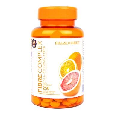 Holland & Barrett Fibre Diet 250 Tablets 440mg