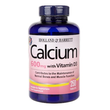 Holland & Barrett Calcium plus Vitamin D 250 Tablets