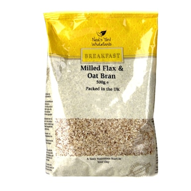 Holland & Barrett Milled Flax & Oat Bran 500g