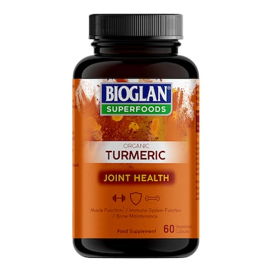 Bioglan Superfoods Organic Turmeric 60 Capsules