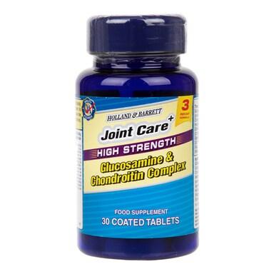 Holland & Barrett High Strength Glucosamine & Chondroitin Complex 30 Tablets