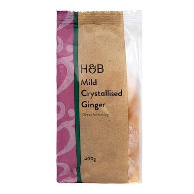 Holland & Barrett Mild Crystallised Ginger 400g