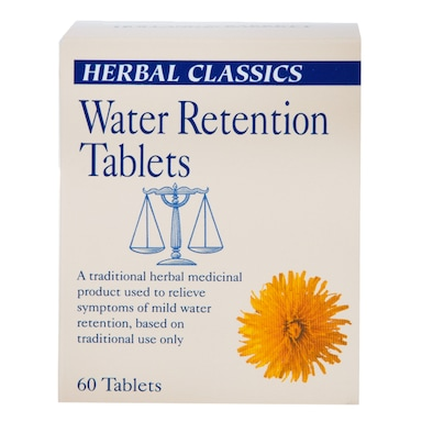 Herbal Classics Water Retention 60 Tablets