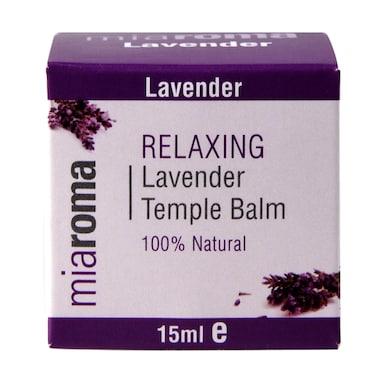 Miaroma Relaxing Lavender Temple Balm 15ml