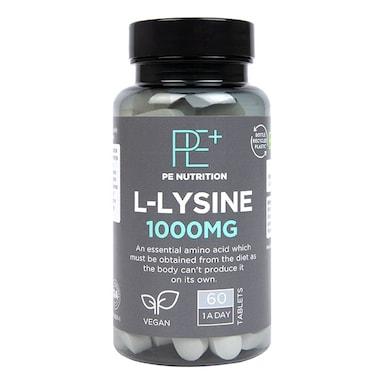 Holland & Barrett l-lysine 60 Tablets 1000mg
