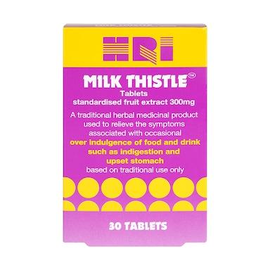 HRI Milk Thistle 30 Tablets