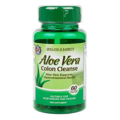 Holland & Barrett Aloe Vera Colon Cleanse 60 Tablets 330mg