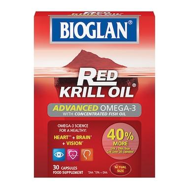 Bioglan Red Krill Oil Advanced Omega-3 30 Capsules