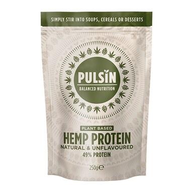 Pulsin Hemp Protein 250g Powder