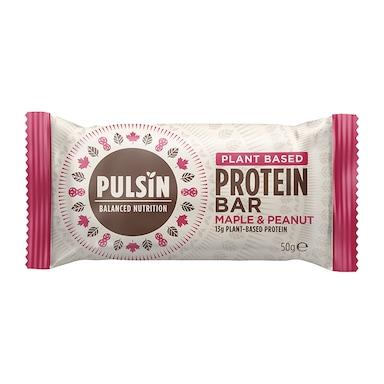 Pulsin Maple & Peanut Protein Booster 50g Bar