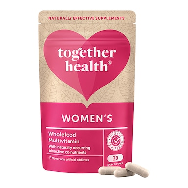 Together Health WholeVits Woman's MultiVit 30 Capsules
