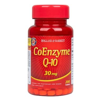 Holland & Barrett CoEnzyme Q-10 200 Tablets 30mg