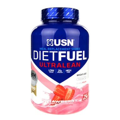 USN Diet Fuel Meal Replacement Shake Strawberry 2kg