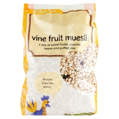 Holland & Barrett Gluten Free Vine Fruit Muesli 500g