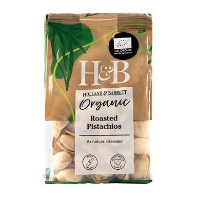 Holland & Barrett Organic Roasted Pistachios 100g