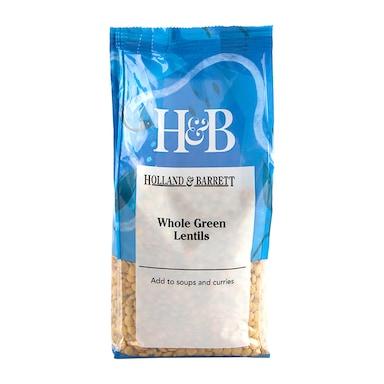 Holland & Barrett Green Lentils 500g