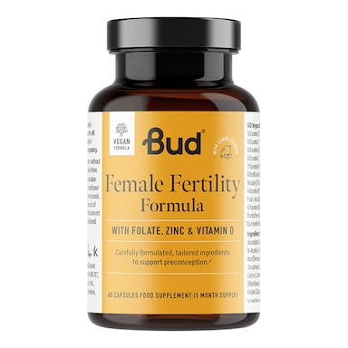 Bud Nutrition Female Fertility Formula 60 Capsules