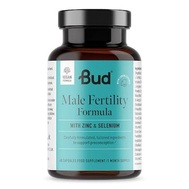 Bud Nutrition Male Fertility Formula 60 Capsules