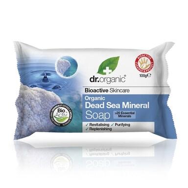 Dr Organic Dead Sea Mineral Soap 100g