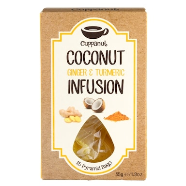 Cuppanut Coconut, Ginger and Turmeric 55g