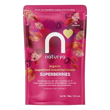 Naturya Organic Superberries Breakfast Boost 150g