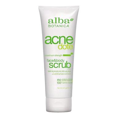 Alba Botanica Acne Face & Body Scrub 227g