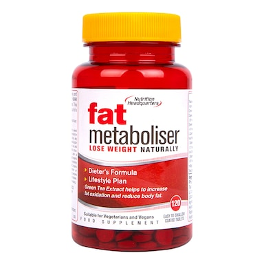 Nutrition Headquarters Fat Metaboliser 120 Tablets