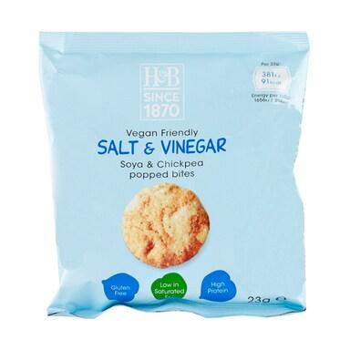 Holland & Barrett Salt & Vinegar Soya & Chickpea Popped Bites 23g